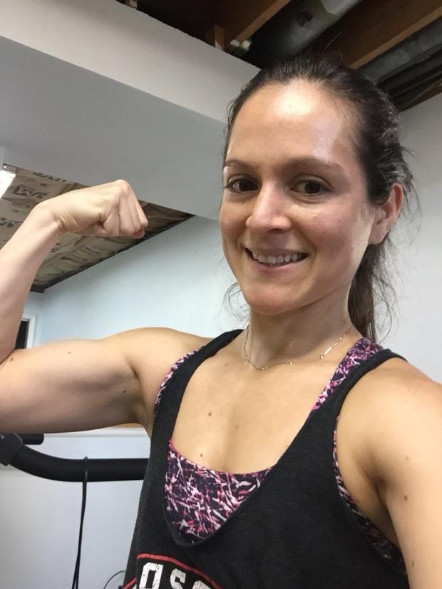 Post run strength training