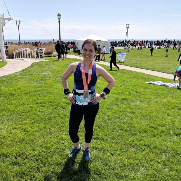 After finishing my 4th marathon, the N.J. Marathon